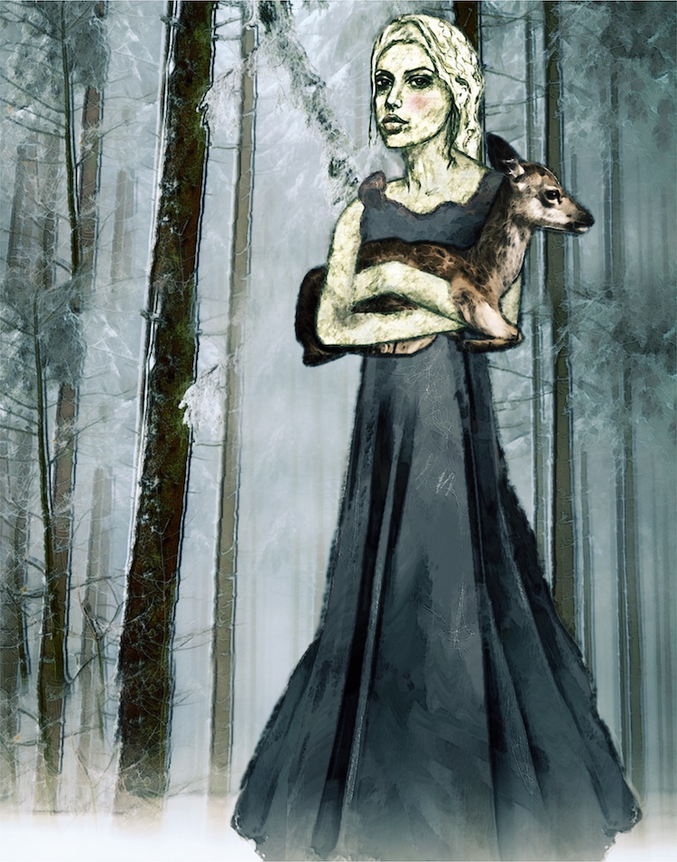 fairytale art by Angela Amias