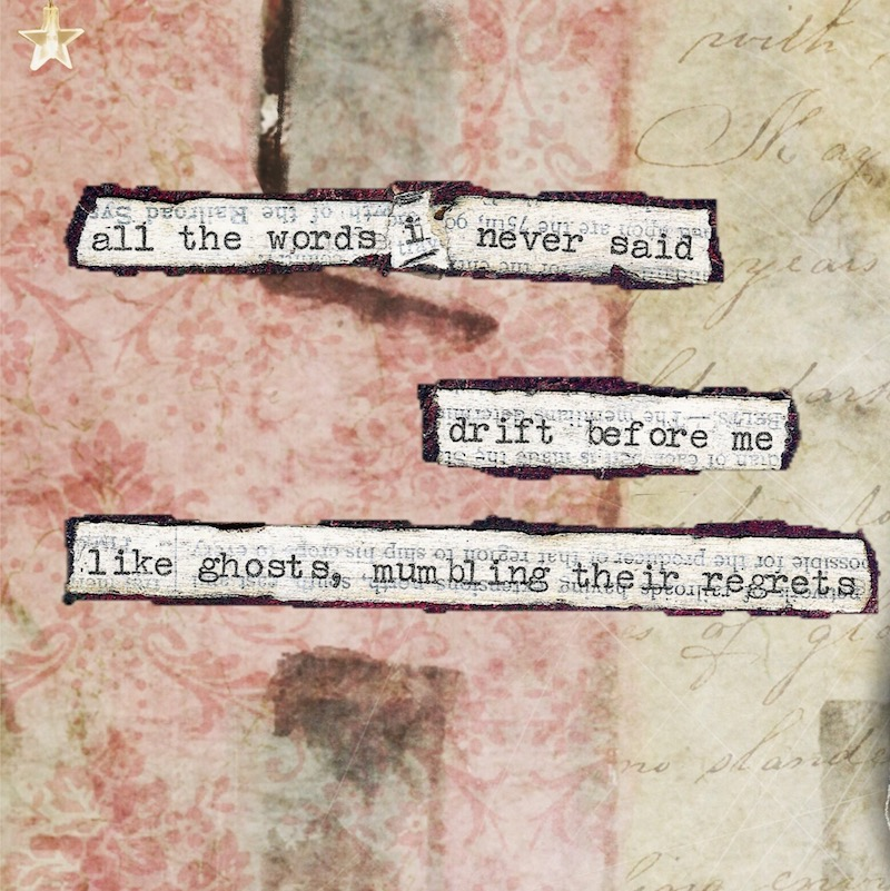 mixed-media micro poetry