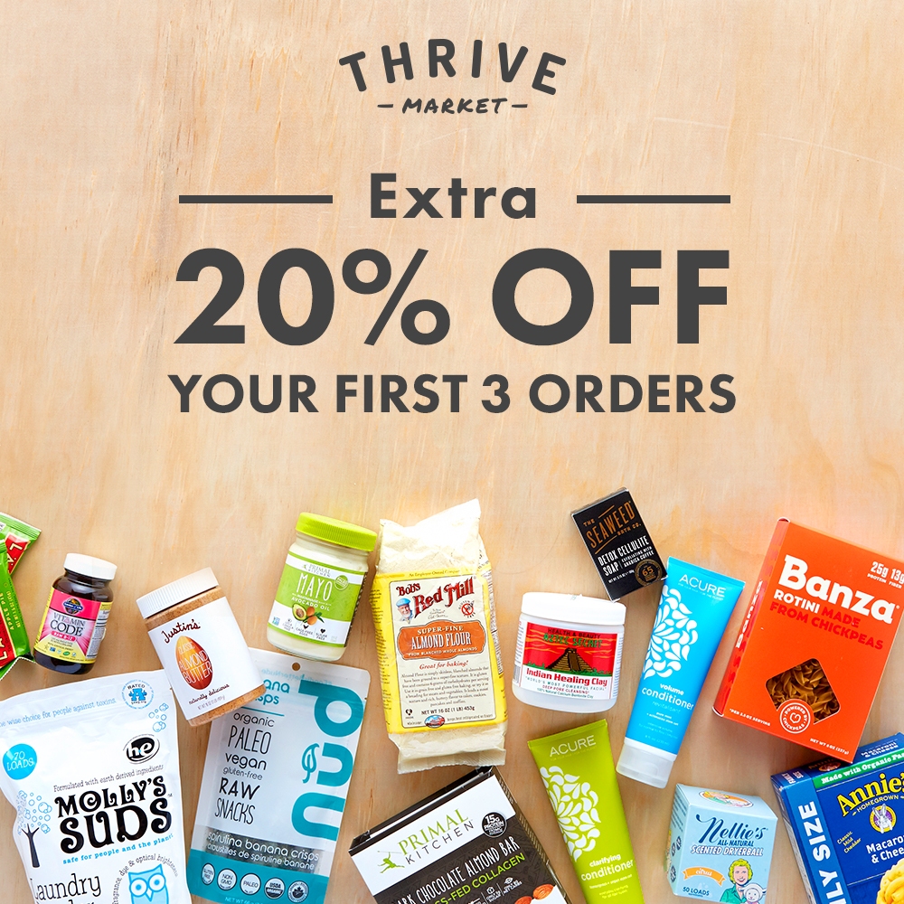 Click HERE to start shopping!  - Find all your favorite healthy goodies at affordable prices, delivered right to your door!