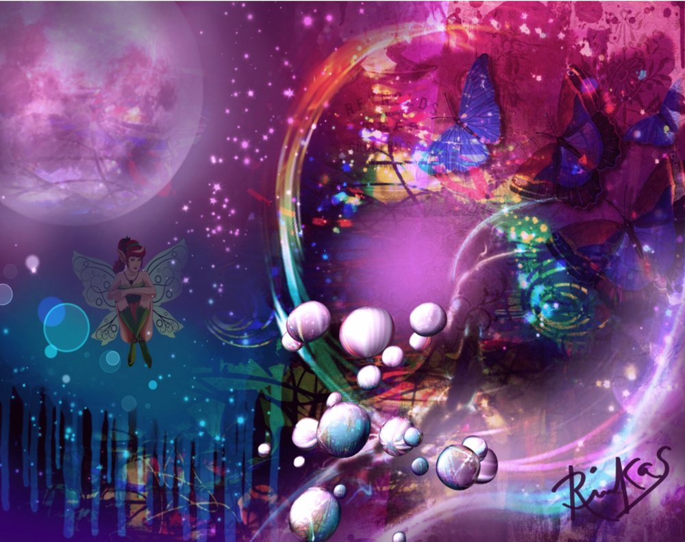 Cosmic Portal by Diana Riukas, iPad digital art.......One of the images submitted to magazine