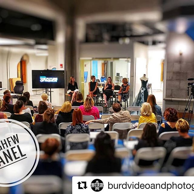 "Truefit was excited to host @pghfw for The Panel ""The Future of Fashion"" and these amazing women! @electric_runway @19thamendment @ppgpaints #pghfw"