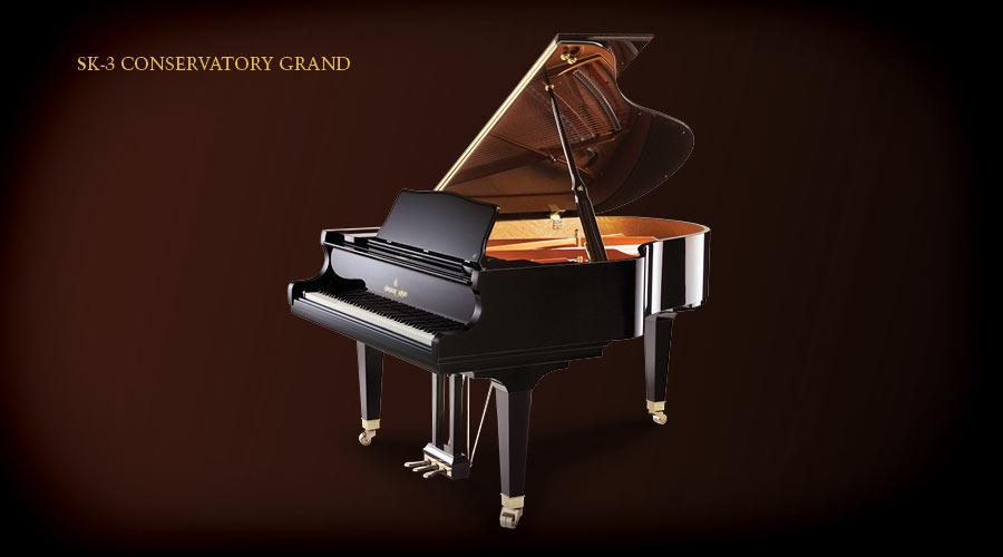 "Shigeru Kawai SK-3 Conservatory Grand 6'2"""