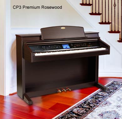 Terrific features, a large color touch display - and hundreds of sounds make the CP3 a terrific choice for anyone searching for a powerful, yet modestly priced, digital piano.