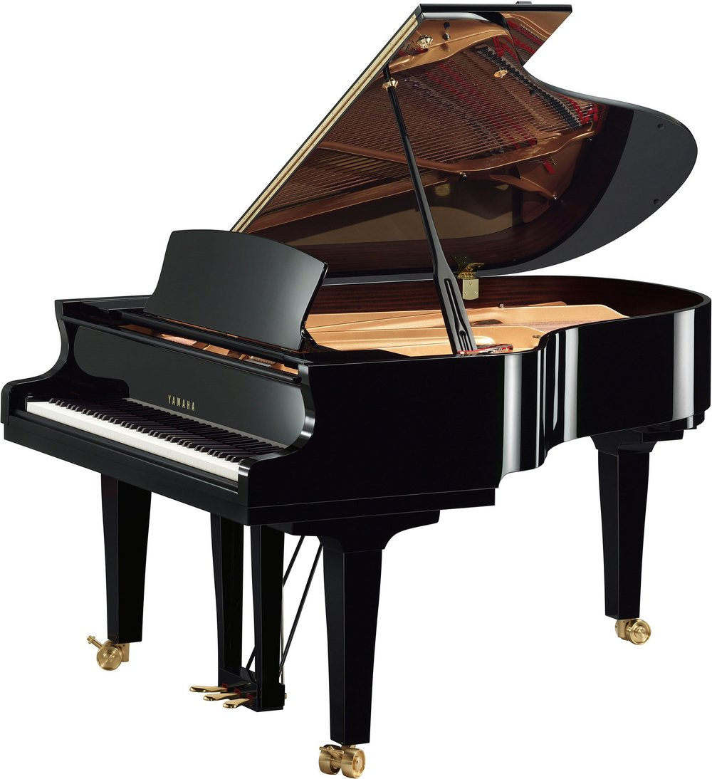 S3X Premium Grand Piano Ebony Polish