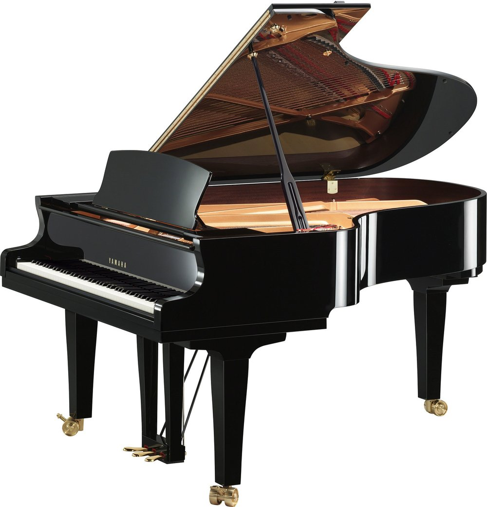 S5X Premium Grand Piano Ebony Polish