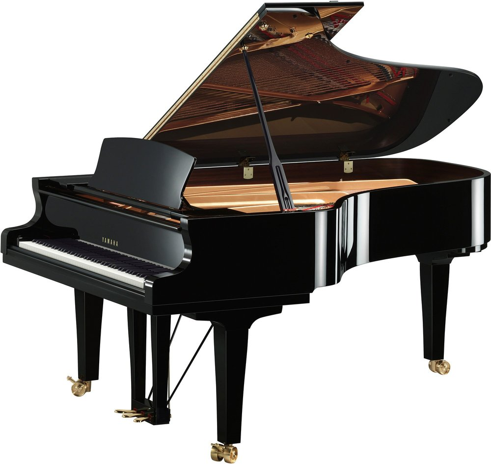 S7X Premium Grand Piano Ebony Polish