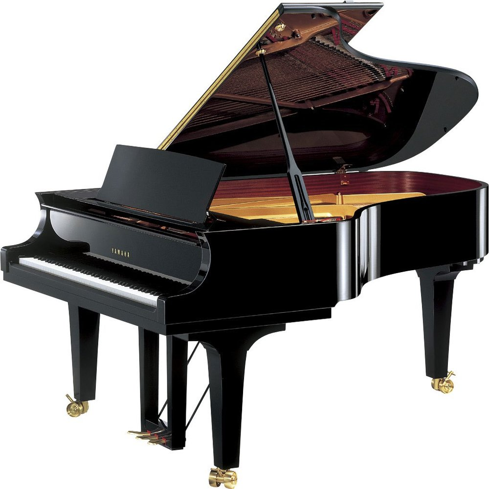 7' CF6 Concert Collection Grand Piano