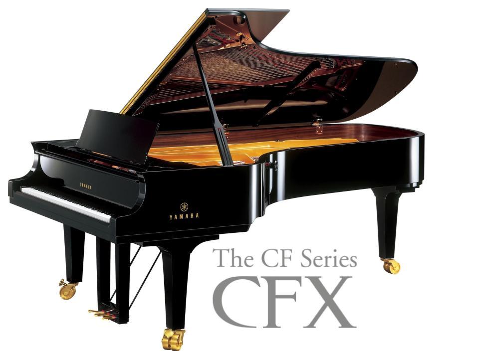 9' CFX Concert Collection Grand Piano