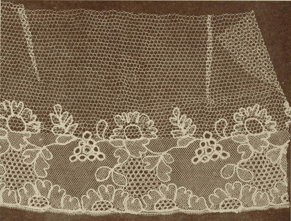 William Henry Fox Talbot, Lace from  The Pencil of Nature , 1845. Public Domain.