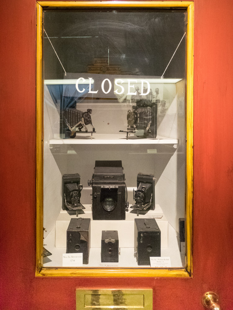 "Ominous-looking sign (""Closed"") in the Kodak Gallery at the National Media Museum, featuring various iterations of the Kodak Brownie. Photos by Joanna Zylinska, 2016.         Normal   0           false   false   false     EN-GB   X-NONE   X-NONE                                                                                                                                                                                                                                                                                                                                                                                                                                                                                                                                                                                                                                                                                                                                                                                                                                                                       /* Style Definitions */  table.MsoNormalTable 	{mso-style-name:""Table Normal""; 	mso-tstyle-rowband-size:0; 	mso-tstyle-colband-size:0; 	mso-style-noshow:yes; 	mso-style-priority:99; 	mso-style-parent:""""; 	mso-padding-alt:0cm 5.4pt 0cm 5.4pt; 	mso-para-margin-top:0cm; 	mso-para-margin-right:0cm; 	mso-para-margin-bottom:8.0pt; 	mso-para-margin-left:0cm; 	line-height:107%; 	mso-pagination:widow-orphan; 	font-size:11.0pt; 	font-family:""Calibri"",sans-serif; 	mso-ascii-font-family:Calibri; 	mso-ascii-theme-font:minor-latin; 	mso-hansi-font-family:Calibri; 	mso-hansi-theme-font:minor-latin; 	mso-bidi-font-family:""Times New Roman""; 	mso-bidi-theme-font:minor-bidi; 	mso-fareast-language:EN-US;}"