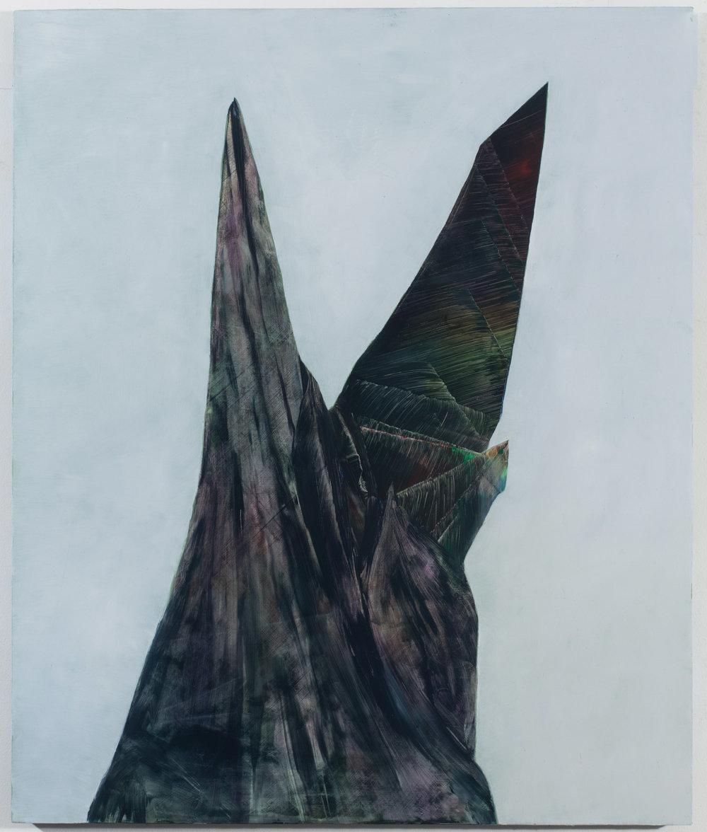 "Memorial, 2013, oil on panel, 24"" x 20"""