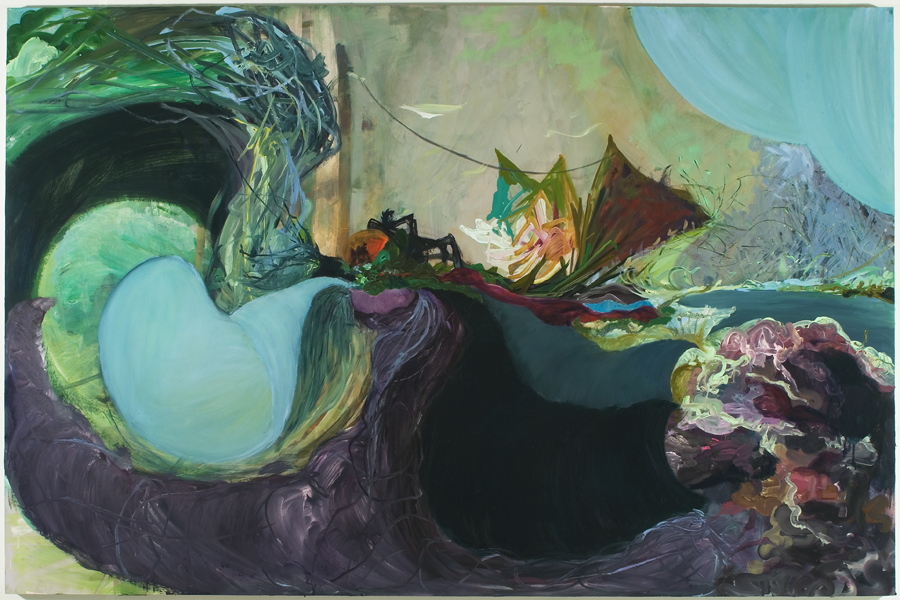 "Untitled (2), 2007, oil on panel, 48"" x 72"""