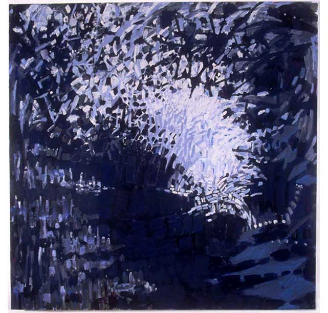 "Untitled (1), 2005, acrylic on canvas, 60"" x 60"""