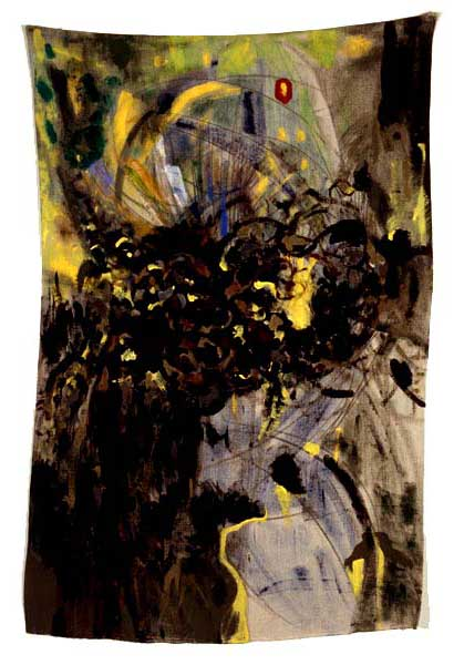 "Untitled, 2002, acrylic on linen, 61"" x 39"""
