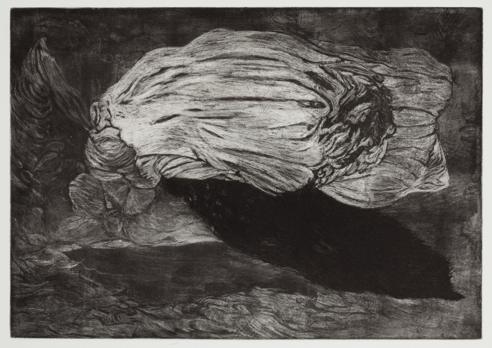 "Apparition, 2010, etching, edition of 21, 13-1/2"" x 17-1/2"" (paper size)"