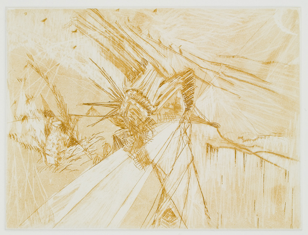 "Untitled (3), 2007, etching, edition of 8, !5"" x 11"" (paper size)"