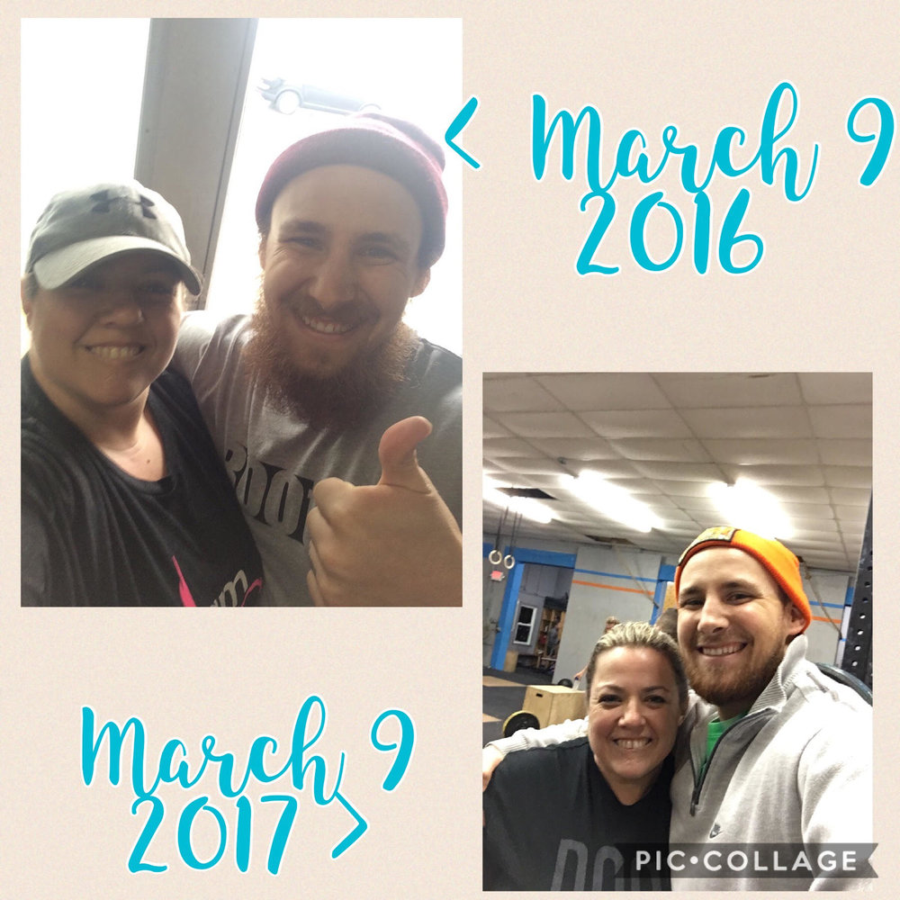 Laura Murphy   I met Matt in the spring of 2016 during a particularly difficult period in my life. My husband suggested I go try Matt's class at the gym where he works out. He said Matt is a fantastic coach, patient, and very knowledgeable. I surprised my husband with a picture with Matt the very same day! Matt is everything my husband described and more.  Besides coaching me through some intense workouts, he taught me the proper form and techniques to do things I would have never dreamt I could do! Meeting Matt was a blessing and he came into my life exactly when I needed him.  He's not just a great coach, he's become a close friend and I'm excited to see what the future brings for him and Hustle House!!