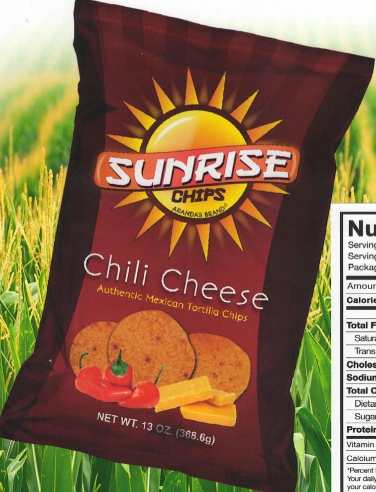 Arandas Brand Chili Cheese