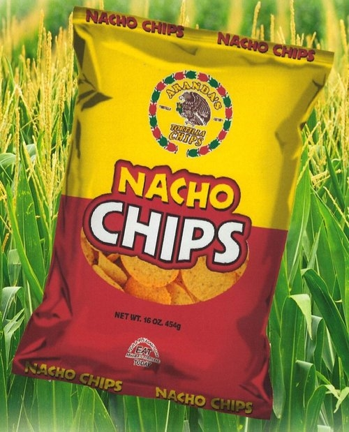 round nacho chip