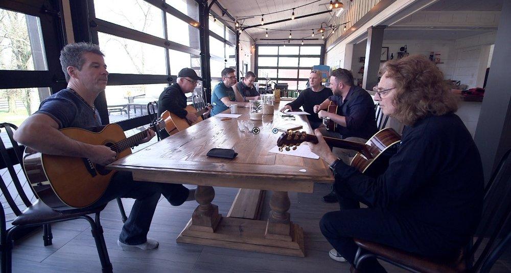 Working on Wae Yer Family in Nashville.