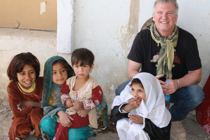 ......with the children of Afghanistan.