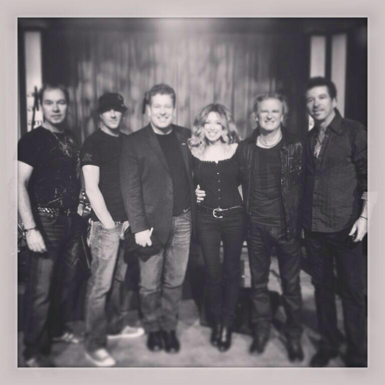 Family. Wayne, Chris, Sam, Carm, me and Al.