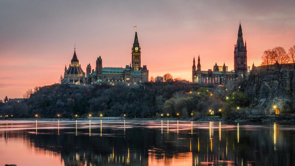 Ottawa, Canada's Capital city.