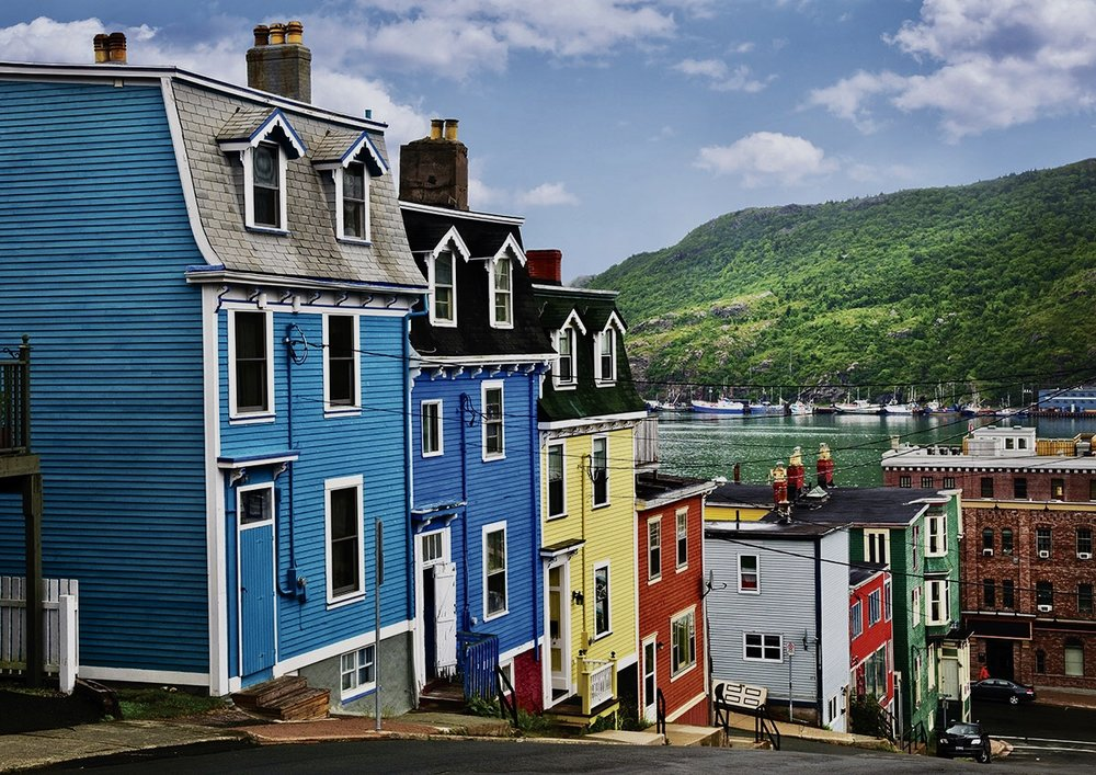 Colourful St.John's.