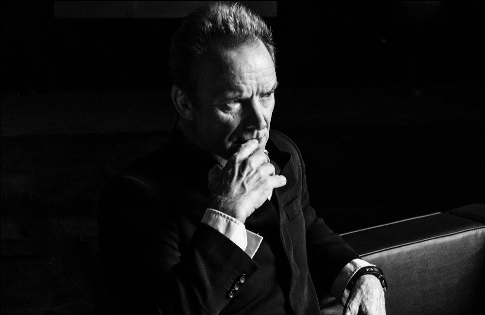 """Sting"" photograph by Julian Lennon."