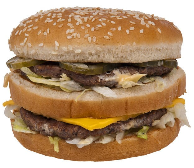 The 65 cent Big Mac.