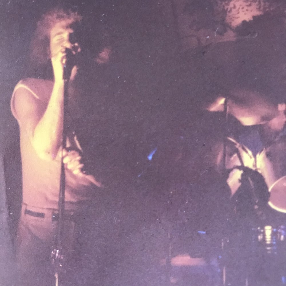 One of the earliest known shots of me singing for ONYX.