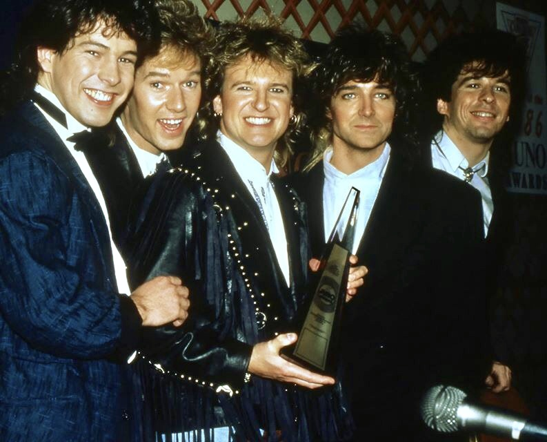 Yes THAT is what a Juno Award looked like in the 80's.