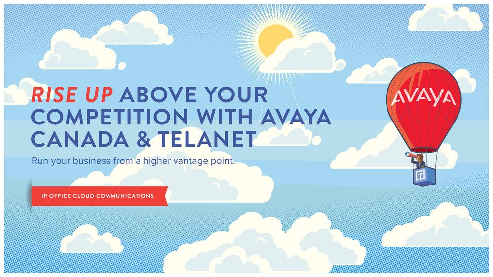 telanet cloud powered by avaya