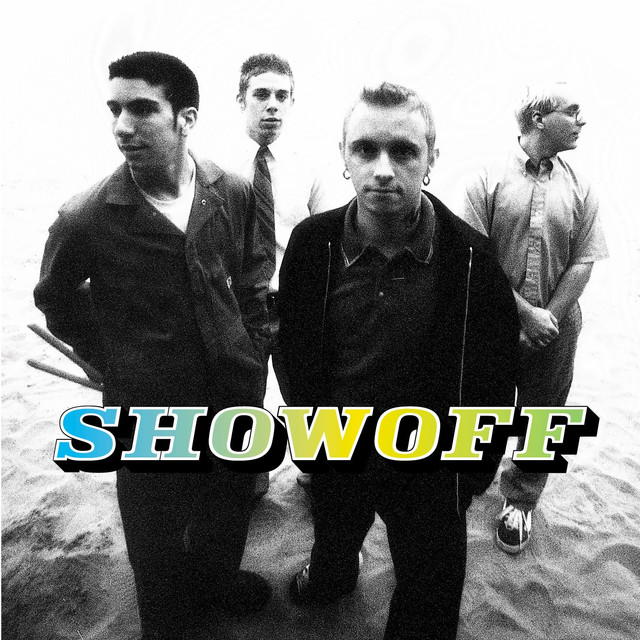 Showoff (self-titled) - Showoff formed in 1997 in Villa Park, Illinois. The band consisted of Chris Envy (vocals/guitar), Daniel Castady (drums), Graham Jordan (guitar), and Dave Envy (bass). In 1998, Showoff signed with Maverick Records while it was owned by Madonna. This self-titled debut album was released on July 13th, 1999, and marked the very first album produced by now legendary music producer, John Feldman. The single