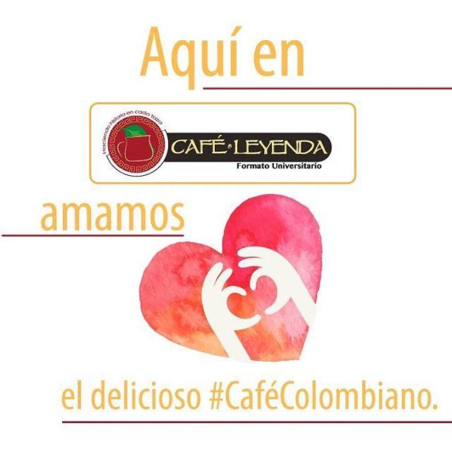 En #CaféLeyenda lo más importante es el verdadero #CaféColombiano • #verdaderocafe #deliciuos #amantesdelcafe #ilikecoffee #coffeetime