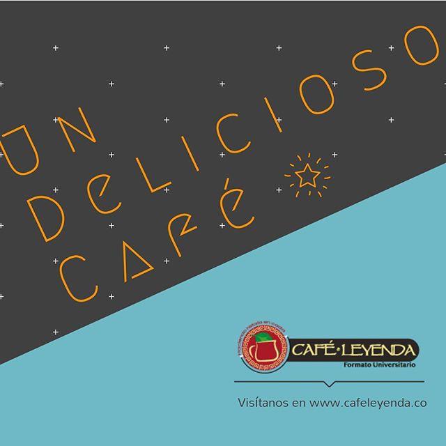 ¡Apúntate un delicioso café a esta hora! • • • Con #caféleyenda  #coffeetime #cafecolombiano #tazadecafe #amantesdelcafe #delicioso #recomendado #estudiantes #caféuniversitário #profesores