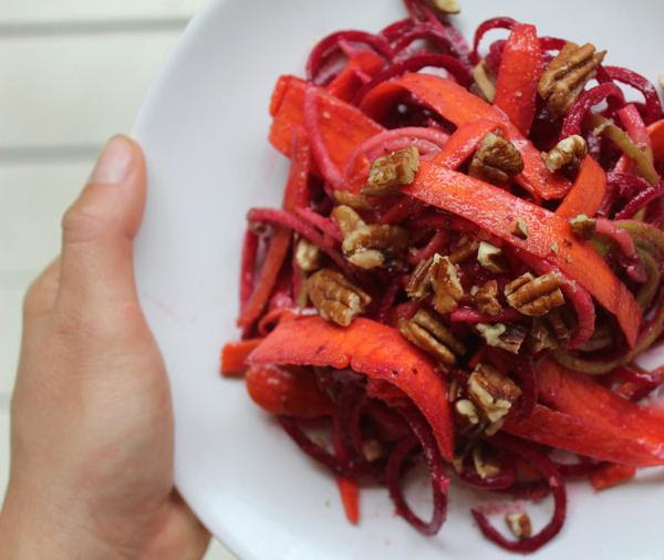 Apple, Beet, and Carrot Salad