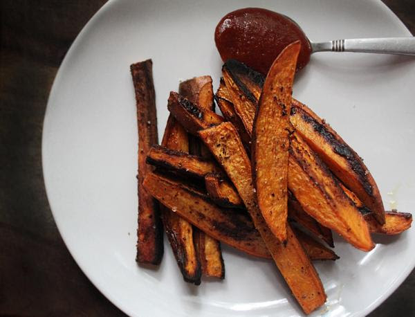 Masala Sweet Potato Fries