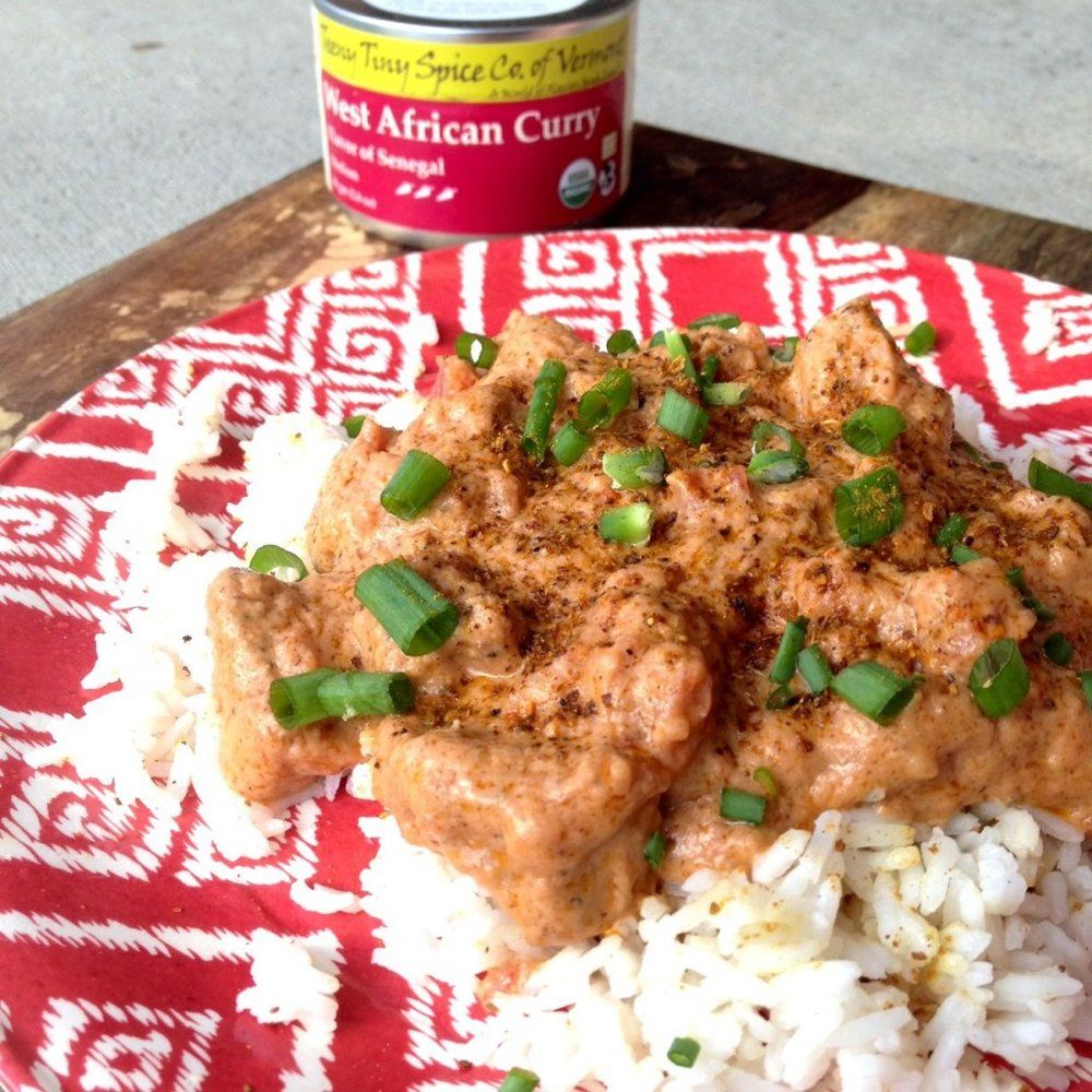 African Peanut Curry