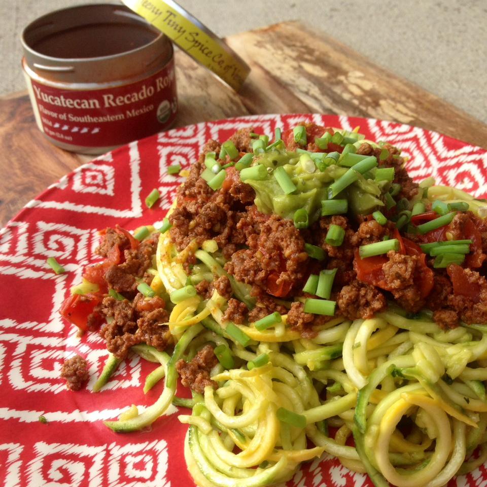 Yucatecan Recado Rojo Spaghetti