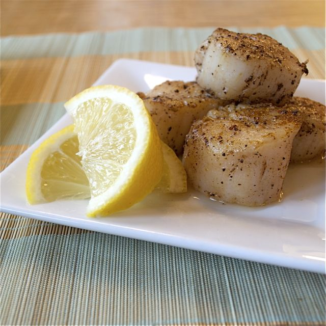 Garam Masala Seared Scallops