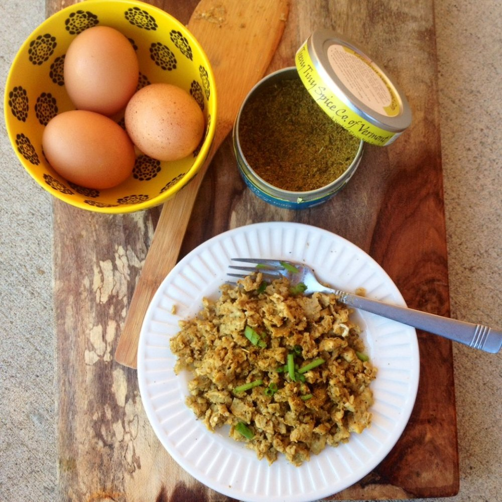 Herb and Spice Scrambled Eggs