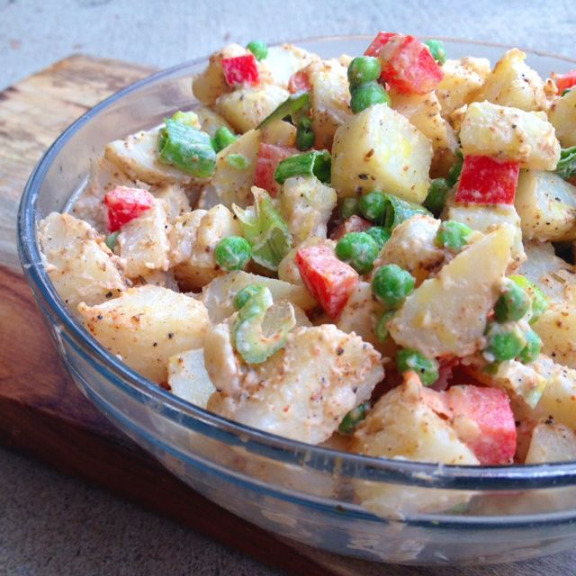 Spicy Potato Salad