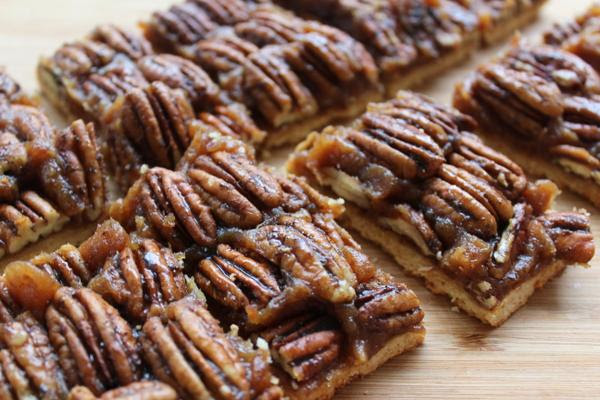 Spiced Pecan Pie Bars