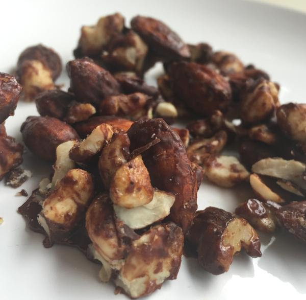 Spiced Chocolate Trail Mix Clusters