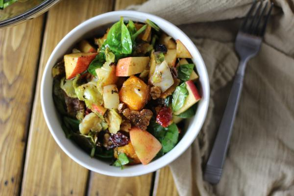 Fall Vegetable Salad