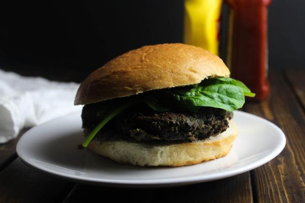 Beans and Greens Burger