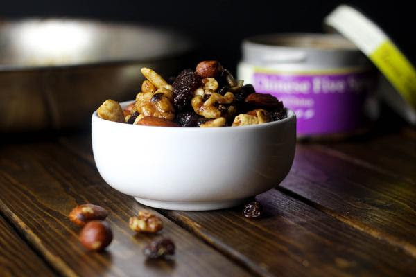 5 Ingredient Sweet and Spicy Trail Mix
