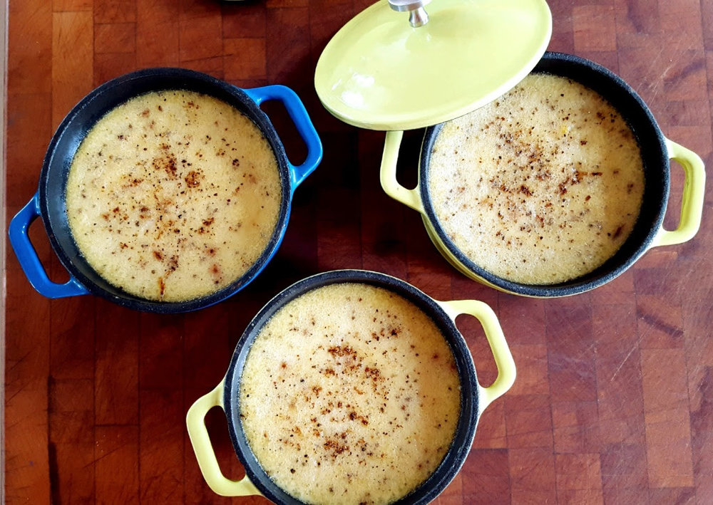 Spiced Custard
