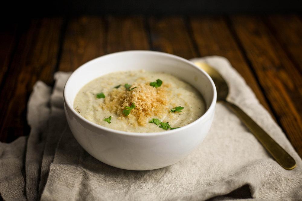 Dairy Free Creamy Broccoli Soup
